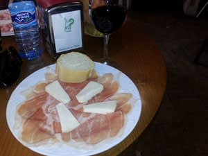 camino costs for tapas