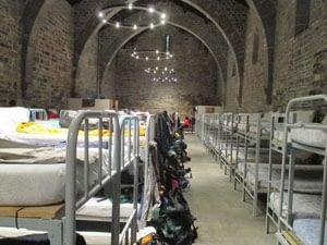 Roncesvalles medieval hostel Itzandegia