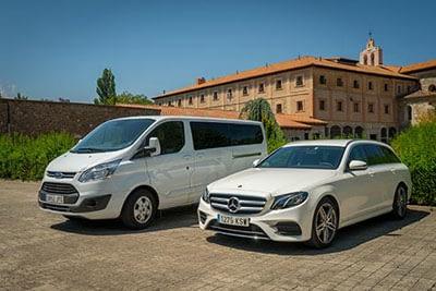 Bag transport vehicles with Caminofacil