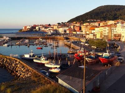Finisterre-harbor-the-end-of-the-Camino-de-Santiago