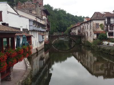 Camino de Santiago Bridge in Saint Jean Pied de Port