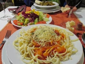 pilgrims meal affordable camino costs